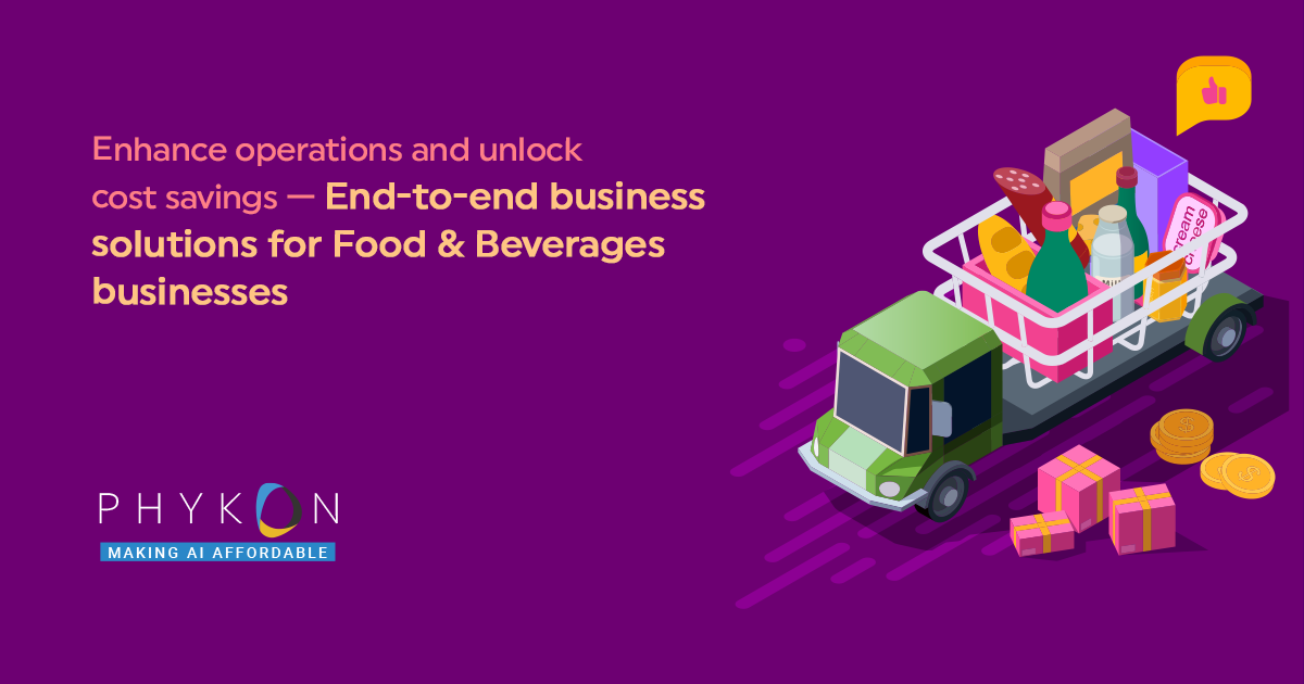 Boost Efficiency Of Your Food and Beverage Industry With The Best Automation Software Trivandrum